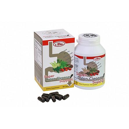 Thực Phẩm Chức Năng - Super Colon Cleanser Support - Hỗ Trợ Tăng Cường Sức Khỏe Đại Tràng, Giảm táo bón, Làm sạch đại tràng