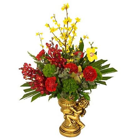 Bình hoa tươi - Rực Rỡ Sắc Xuân 3972