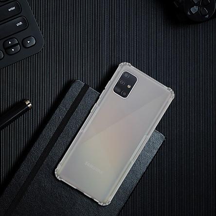 Ốp lưng cho Samsung Galaxy A51 silicon Nillkin chống sốc - Hàng nhập khẩu