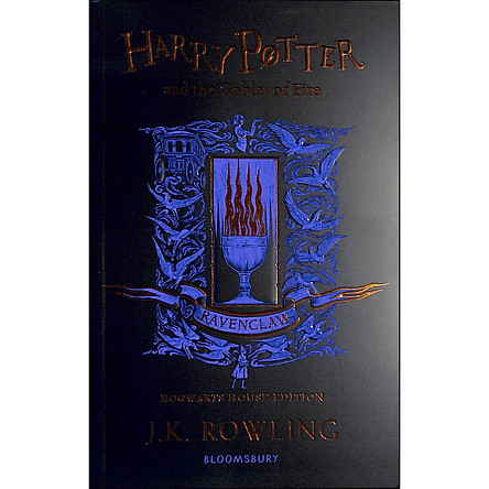 Harry Potter and the Goblet of Fire - Ravenclaw Edition (Book 4 of 7: Harry Potter Series) (Paperback)
