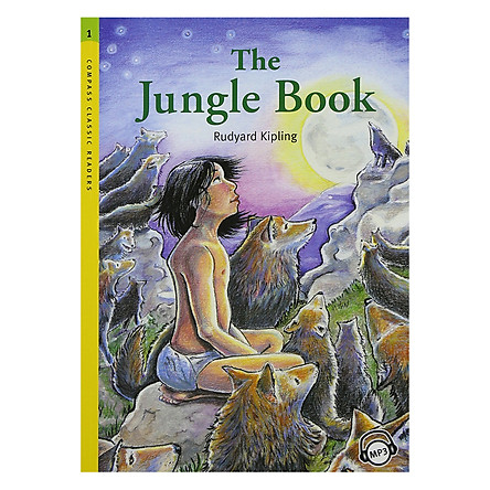 Compass Classic Readers 1: The Jungle Book (With Mp3) (Paperback)