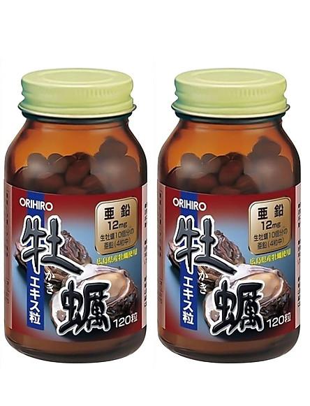 Combo 2 hộp Tinh chất Hàu tươi Orihiro Nhật Bản bồi bổ sinh lực nam giới