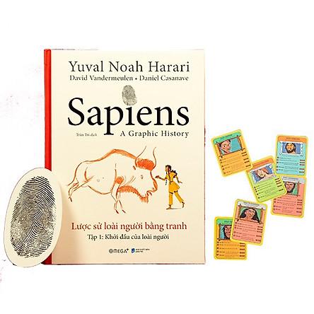 Sapiens - Lược Sử Loài Người Bằng Tranh - Tập 1: Khởi Đầu Của Loài Người