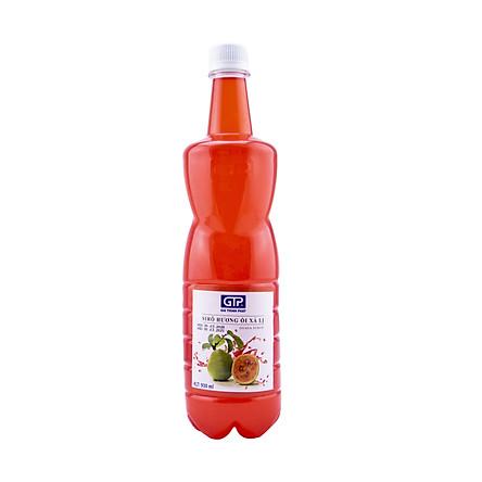 Siro Ổi Xá Lị GTP  - Chuyên dùng pha chế: Trà sữa, Trà trái cây, Cocktail, Mocktail…