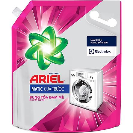 Nước Giặt Ariel Cửa Trước Bung Tỏa Đam Mê 3.25Kg