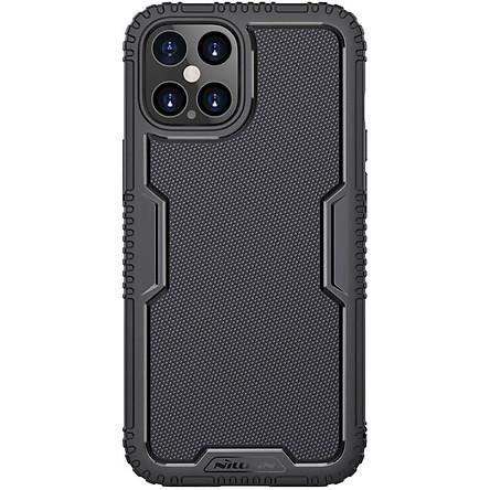 Ốp lưng iPhone 12 Pro Max/ 12 Pro Max/ 12 Nillkin Tactics chống sốc - Hàng chính hãng
