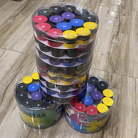 Quấn vợt cầu Lông Tennis WINSTAR hộp 60 cái đủ màu