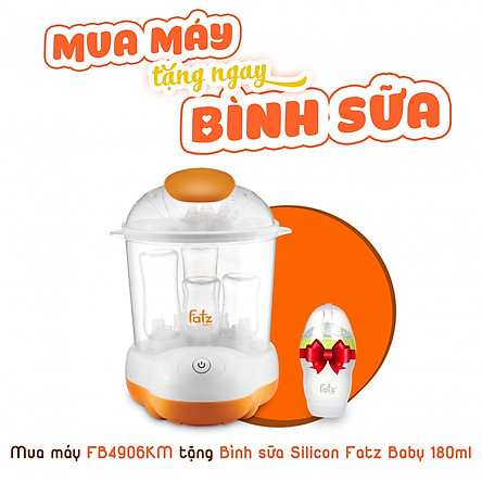 Máy tiệt trùng hơi nước sấy khô Fatzbaby Sumo 1 FB4906SL