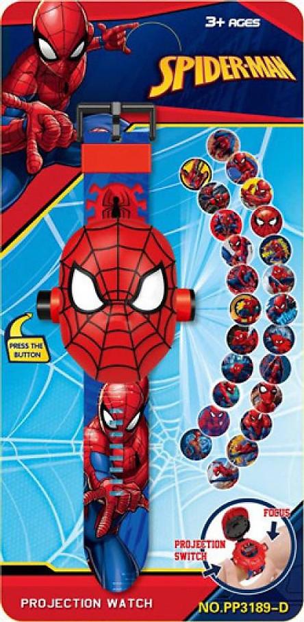 Đồng hồ chiếu 24 hình 3D người nhện