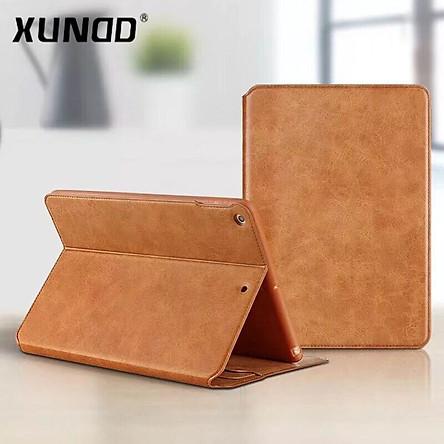 Bao da iPad Mini 4/5 XUNDD da mềm có ngăn chứa giấy tờ - Hàng chính hãng