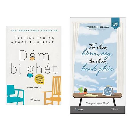 Combo 2 Cuốn Sách Gối Đầu Giường Vê Tâm Lí Học :  Dám Bị Ghét + Tôi Chọn Hôm Nay, Tôi Chọn Hạnh Phúc (Tặng kèm Bookmark thiết kế AHA)