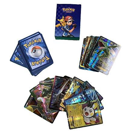 Bộ Thẻ Bài Pokemon 60 Thẻ (60Mega) Chơi Đối Kháng New Đẹp