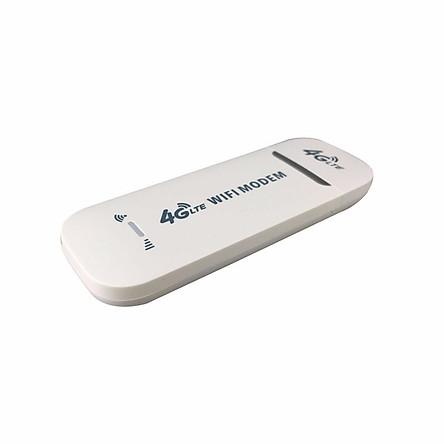USB Phát Wifi 4G LTE Từ Sim  điện thoại - Tích Hợp 3 In 1 (Trắng)