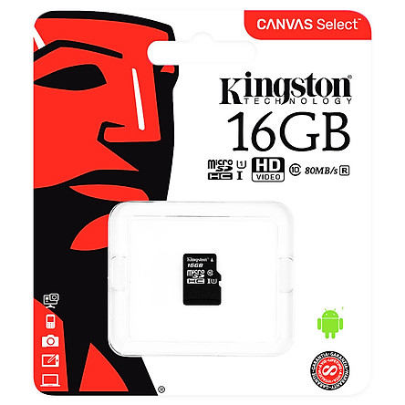 Thẻ Nhớ Micro SD Kingston SDHC UHS-1