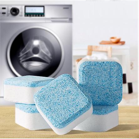 Hộp 12 Viên Tẩy Vệ Sinh Lồng Máy Giặt, Diệt Khuẩn Và Tẩy Chất Cặn Lồng Máy Giặt Hiệu Quả