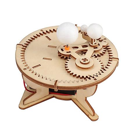 Bộ đồ chơi khoa học tự làm hành tinh chuyển động bằng gỗ – DIY Wood Steam