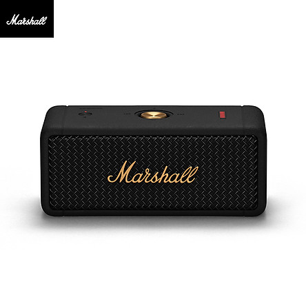Marshall Emberton Wireless BT Speaker with Dual 10W HD Sound/20H Playtime Portable IPX7 Waterproof Speakers for