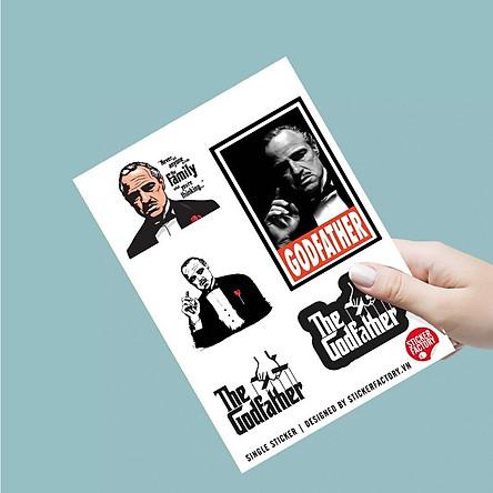 The Godfather - Single Sticker hình dán lẻ Bố Già