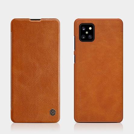 Bao da dành cho SamSung Galaxy A71 chính hãng Nillkin QIN -  Hàng Chính Hãng