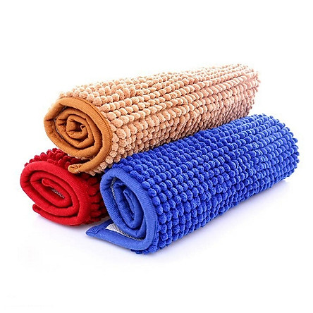 Bộ 5 thảm đinh lau chân size 33x50 cm BIDAMOP