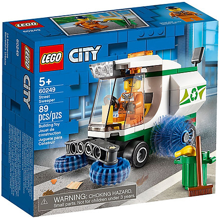 Đồ Chơi Lắp Ráp Lego City Xe Quét Đường 60249 (89 Chi Tiết)