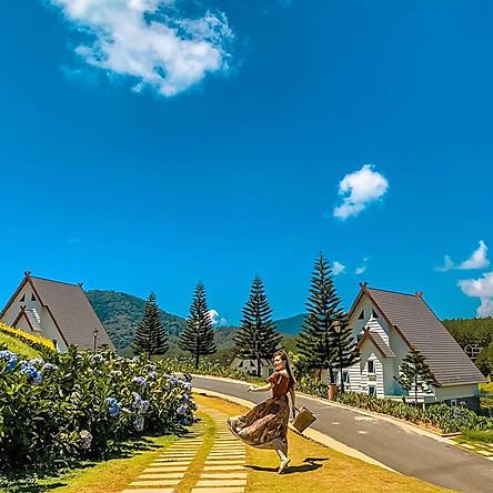 Đà Lạt Wonder Resort 4* - Gói 3N2Đ Buffet Sáng, Bữa Tối, Phòng Cao Cấp Hướng Hồ, Xe Tham Quan 4 Giờ, Hồ Bơi Vô Cực