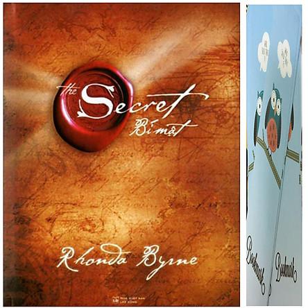 Bí mật The secret ( Bìa cứng + Tặng kèm 1 bookmark như hình )