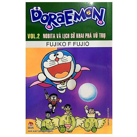 Doraemon Tập 2: Nobita Và Lịch Sử Khai Phá Vũ Trụ (Tái Bản 2019)