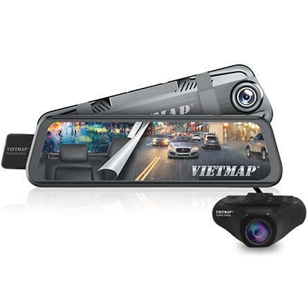 Vietmap G39 - Camera hành trình Dạng gương TRÀN VIỀN điện tử thông minh  - HÀNG CHÍNH HÃNG