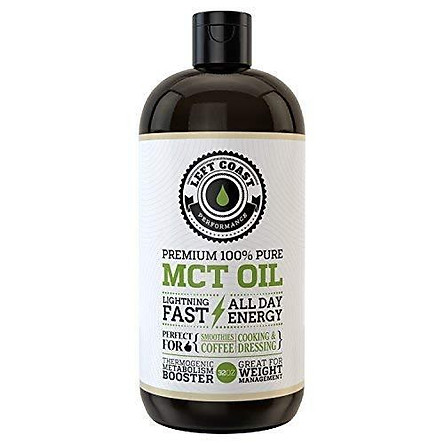 MCT Oil Keto derived only from Sustainable Coconuts. C8 and C10. Keto Diet   Paleo Friendly. Triple Filtered. Each Batch is Independently Tested (32oz)