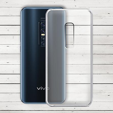 Ốp lưng cho Vivo V17 Pro - Ốp dẻo trong - 01248 - Hàng Chính Hãng