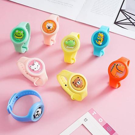 Đồng hồ chống muỗi cho bé, đồng hồ tinh dầu chống muỗi có đèn phát sáng