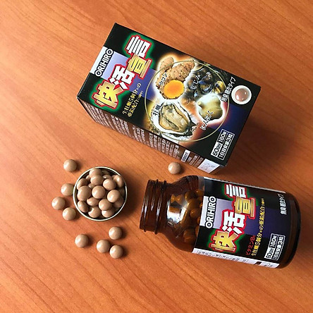 Thực phẩm chức năng Viên uống tăng cường sinh lý nam tinh chất Hàu nghệ Orihiro Nhật Bản