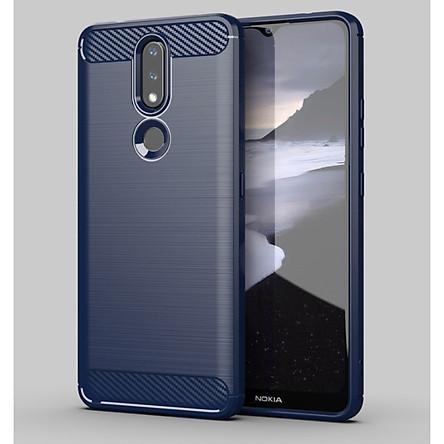Ốp lưng chống sốc Vân Sợi Carbon cho Nokia 2.4