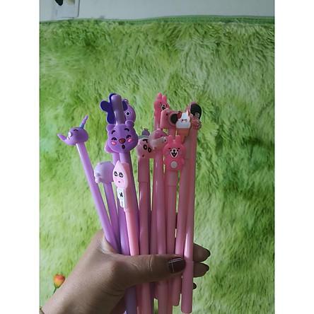 Bút Cute-Sét Bút Bi Cute, Bút Nước Nhiều Mẫu Hoạt Hình Cực Hot