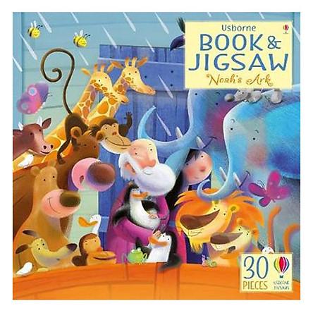 Usborne Book and Jigsaw Noah Ark