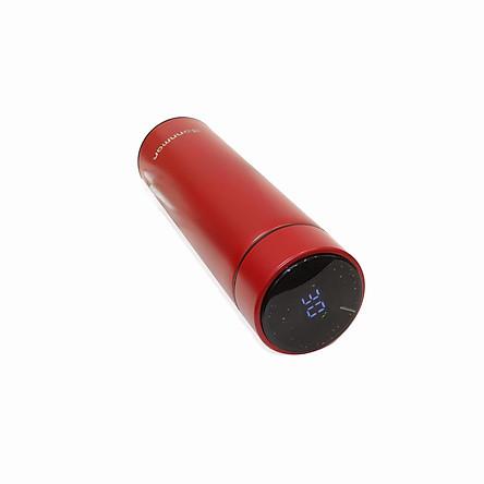 Bình giữ nhiệt inox thông minh Bonnman có nhiệt kế 480ml