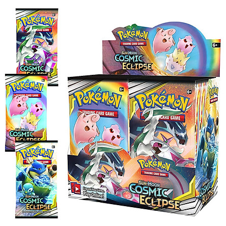 Bộ Thẻ Bài Pokemon 324 Thẻ Trading Card Game Sun&Moon Cosmic Eclipse TCG Sưu Tập Đẹp Đọc Đáo