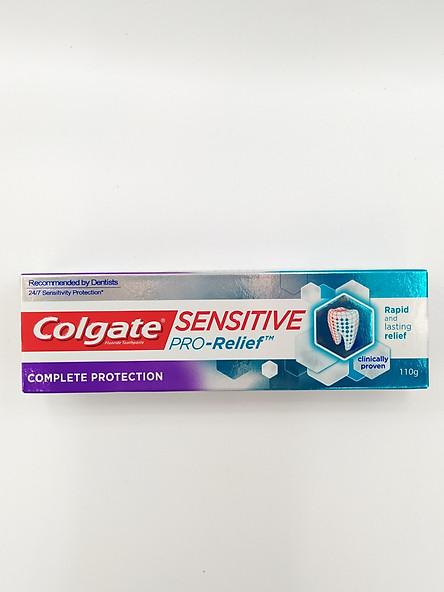 Kem đánh răng cao cấp Colgate Sensitive Complete Protection 110g (Bao Bì Mới)