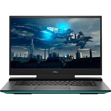 Laptop Dell Gaming G7 7500 G7500A (Core i7-10750H/ 16GB (8GB x2) DDR4 3200MHz/ 512GB SSD M.2 PCIe/ RTX 2060 6GB GDDR6/ 15.6 FHD WVA, 144Hz/ Win10) - Hàng Chính Hãng