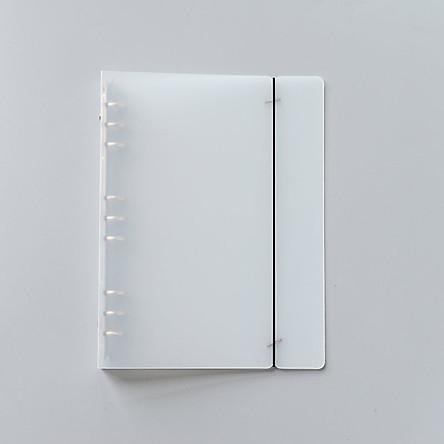 Bìa sổ còng trong suốt 9 lỗ cỡ B5 - 215x280x25mm