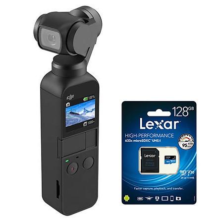 DJI Osmo Pocket - Hàng Chính hãng + Thẻ nhớ 128Gb quay 4K