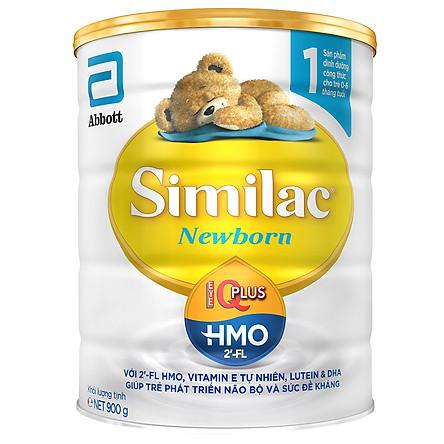 Sữa Bột Abbott Similac Newborn IQ HMO (900g)
