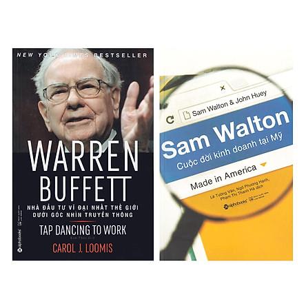 Combo Sách : Sam Walton - Cuộc Đời Kinh Doanh Tại Mỹ + Warren Buffett - Nhà Đầu Tư Vĩ Đại Nhất Thế Giới Dưới Góc Nhìn Truyền Thông