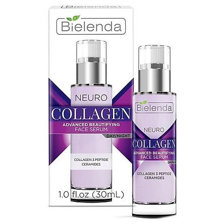 Tinh chất chống lão hóa Bielenda Neuro Collagen Advanced Beautifying Face Serum Day Night 30ml
