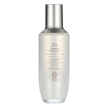 Tinh Chất Dưỡng Da The Face Shop Yehwadam Pure Brightening Serum 34400085 (45ml)