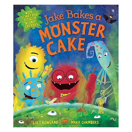 Jake Bakes A Monster Cake