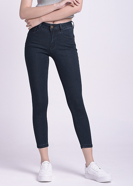 Quần Jean Dài Nữ Miss World Jeans JO19180001-LBK
