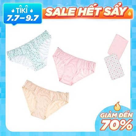 Combo 10 Quần Lót Nữ Vera Bikini 6323 - Màu Ngẫu Nhiên