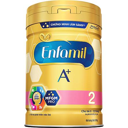 Sữa Bột Enfamil A+ 2 (830g)